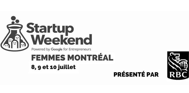 Startup Weekend Femmes Montreal